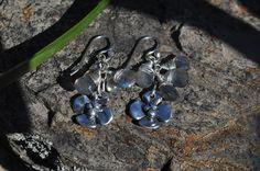 Labradorite Cluster Dogwood Earrings www.artisansnest.com