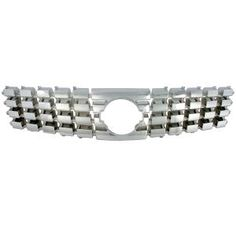 2007 Nissan Sentra Imposter Grille Overlay, Chrome Plated ABS, 1 Piece:  Dimensions:3.63x3.50x32.00  Discount Price:$89.95  Fits: 2007 Nissan Sentra S  2007 Nissan Sentra  Finish:Chrome  Part No: GI-60