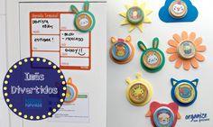 Organize sem Frescuras | Rafaela Oliveira » Arquivos » DIY com Nestlé | Imãs…