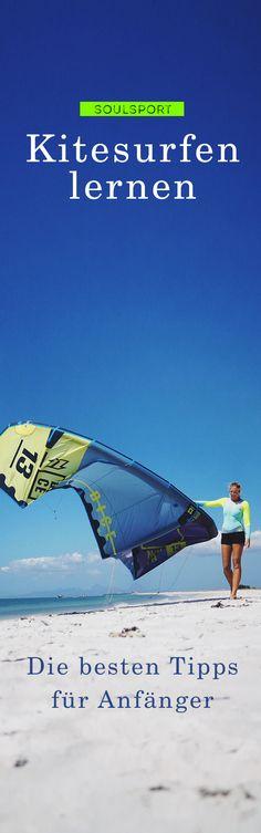 Kitesurfen lernen – Lerne schnell und sicher Kitesurfen mit den Tipps für Anfänger von VDWS Kitesurflehrerin Nina. #kitesurfen #kitesurfing. Folge uns bei instagram: @soulmush