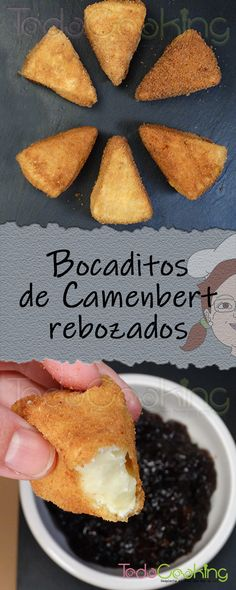 Queso Frito, Tapas, Queso Camembert, Canapes, Mousse, Appetizers, Snacks, Recipes, Food