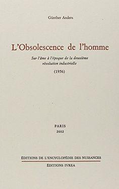 L'obsolescence De L'homme Pdf Gratuit : l'obsolescence, l'homme, gratuit, Profil, Laurent, Melito, (laurentmelito), Pinterest