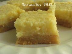 Best Lemon Bars ever