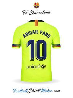 Fútbol · Camiseta FC Barcelona 2018 19 II Abigail farg 10 8bf44de8c2e89