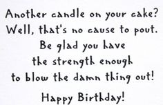 Another Candle On Your Birthday Cake Blow Saying River City Cling Rubber Stamp in Crafts | eBay