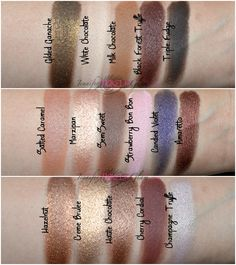 ♥ Jennifer Make Up Glam ♥: * NEW IN TOO FACED (Haul+Review+Swatches): Paleta CHOCOLATE BAR *