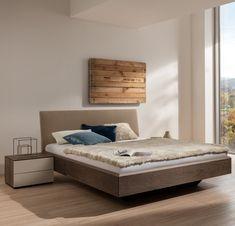 Bett und Nachttisch #schlafen #sleeping #mab #mabmöbel #möbel #furniture #interiordesign #designinspiration #designlife #swissmade #muotathal #swissness #möbelschweiz #swissquality #nachhaltigkeit #ächtmuotathal Projects, Home Decor, Bedside Desk, Bed, Wood, Ideas, Blue Prints, Interior Design, Home Interiors