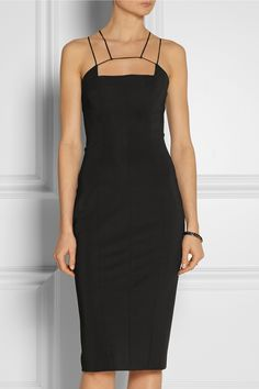 Cushnie et Ochs Stretch-jersey dress NET-A-PORTER.COM