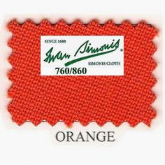 Kit tapis Simonis 760 7ft US Orange - 190,00 €  #Jeux