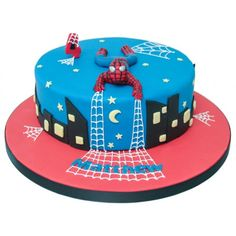 spiderman cakes ideas - Pesquisa do Google
