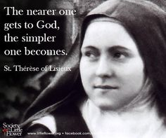 I understand how your soul, Humble and Sweet Valley, Can contain Jesus, the Ocean of Love ! Therese of Lisieux Catholic Religion, Catholic Quotes, Catholic Prayers, Catholic Saints, Religious Quotes, Roman Catholic, Sainte Therese, St Therese Of Lisieux, Saint Quotes