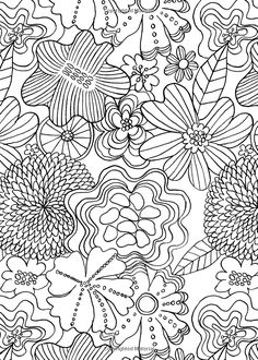 Creative Therapy An Anti Stress Coloring Book Hannah