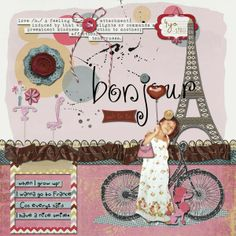 1000 images about scrapbooking eiffel tower on pinterest - Boutique scrapbooking paris ...