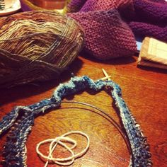 Knitting time :) by emmafassio, via Flickr
