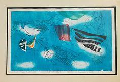 Hideo Hagiwara Breeze No 2 1968 Japanese Woodblock RARE Modernist Print 29 50 | eBay