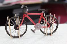 Fimo or Marzipan Bike - step by step Photo tutorial - Bildanleitung - Лепим велосипед из мастики | Уроки лепки