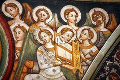 Affreschi della Basilica di Santa Caterina d'Alessandria a Galatina, dettaglio