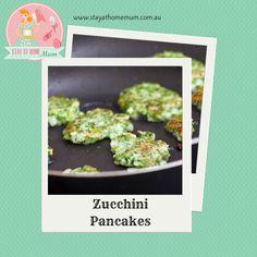 Zucchini Pancakes | Stay at Home Mum