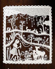 Sarah Trumbauer: Papercut