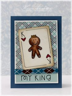 Peppermint Patty's Papercraft: My King! Happy Father's Day!