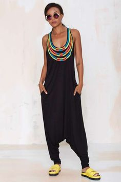 Mara Hoffman Ibiza Embroidered Jumpsuit - Looks so comfy