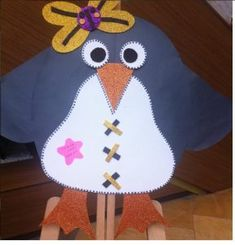 Penguin craft idea for kids | Crafts and Worksheets for Preschool,Toddler and Kindergarten