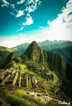 Machu Picchu Peru <3