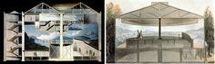 O Panorama consistia em pinturas com uma visão de 360º à volta do espectador. Eram colocadas dentro de um edifício devido ao seu tamanho.
