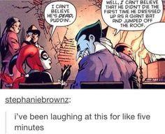 The joker and Harley