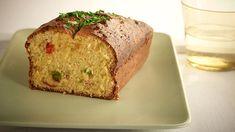Αλμυρό Κέικ με Πιπεριές