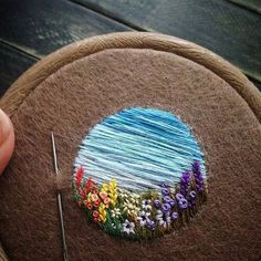 Thrilling Designing Your Own Cross Stitch Embroidery Patterns Ideas. Exhilarating Designing Your Own Cross Stitch Embroidery Patterns Ideas. Embroidery Flowers Pattern, Learn Embroidery, Hand Embroidery Stitches, Embroidery Hoop Art, Hand Embroidery Designs, Embroidery Techniques, Ribbon Embroidery, Cross Stitch Embroidery, Embroidery Ideas