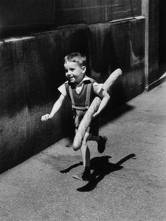 Le Petit Parisien Paris France 1952 by Willy Ronis