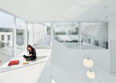 ReMIX Studio's Shunyi House extension has louvred cladding