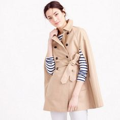 J.Crew Trench Cape: http://www.stylemepretty.com/living/2016/03/24/the-cutest-spring-coats-at-every-price/: