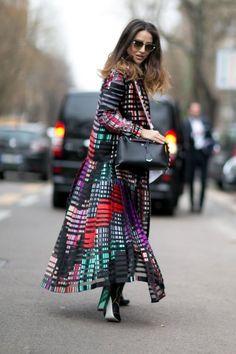 Milan Fashion Week: Women's Street Style Fall 2016 Day 2