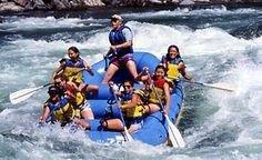 Yosemite National Park White Water Rafting