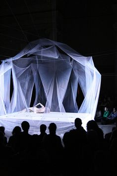 Butoh performance by Ximena Garnica; stage design by Shige Moriya by Asian Art…