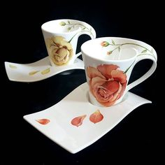 theSOOdesign의 작품 중 가장 많이 찾아주시는   WEBSTA - Instagram Analytics Coffee Cups And Saucers, China Cups And Saucers, Tea Cup Saucer, Porcelain Mugs, China Porcelain, China Clay, Cool Mugs, Chocolate Cups, Tea Art
