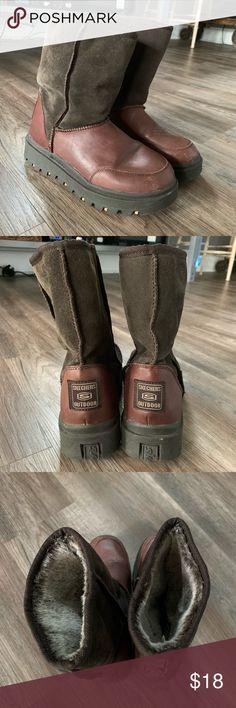 7fbbeb1e671 Sketchers Snow Boots Sketchers winter boots. Skechers Shoes Winter   Rain  Boots Winter Boots