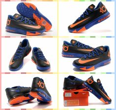 new style 3c21a 3802c Nike Zoom Kevin Durant s KD VI Low  Basketball  Shoes Dark Blue Royal