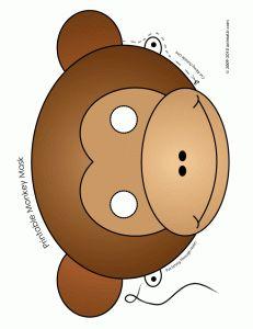 printable monkey mask circus party printables and circus crafts – Mardi Gras Jungle Party, Safari Party, Circus Party, Pig Party, Circus Theme, Monkey Mask, Pet Monkey, Puzzle Photo, Printable Animal Masks