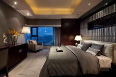 Versatile Contemporary Bedroom Designs » Decoholic #bedrooms #room