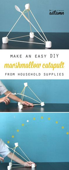 A marshmallow catapult is in our future.