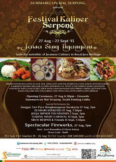 Festival Kuliner Serpong Jawa Sing Ngangeni