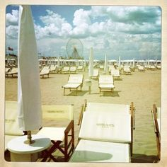 """""""The beach in front of the Grand Hotel - ferris wheel for the summer :)"""" by @SuuperG"""
