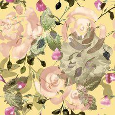 Roses by Ralitsa Raleva Seamless Repeat  Royalty-Free Stock Pattern
