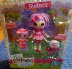 Mini Lalaloopsy littles Sisters *cute*