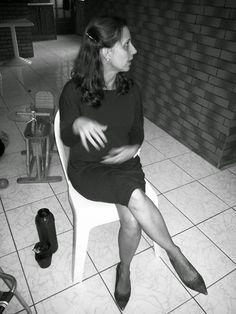 FEMINA - Modéstia e elegância (por Aline Rocha Taddei Brodbeck): Vestidinho marrom