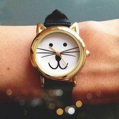 #Reloj Cat ^_^ http://www.pintalabios.info/es/sorteos_de_moda/view/es/3298 #ESP #Sorteo #Complementos