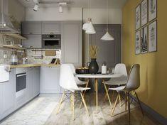 Proiect de amenajare intr-un apartament de 3 camere pentru o familie cu un copil mic- Inspiratie in amenajarea casei - www.povesteacasei.ro
